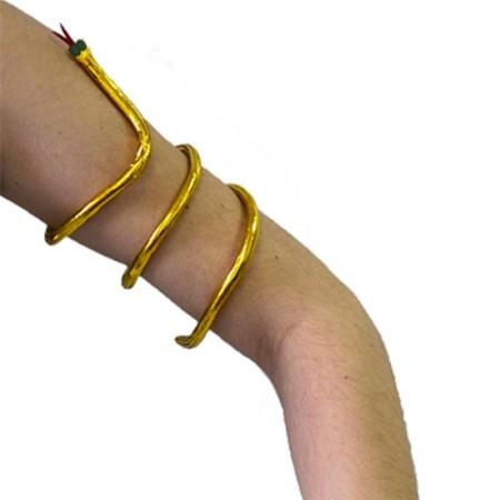 Bracelet égyptien serpent d'or