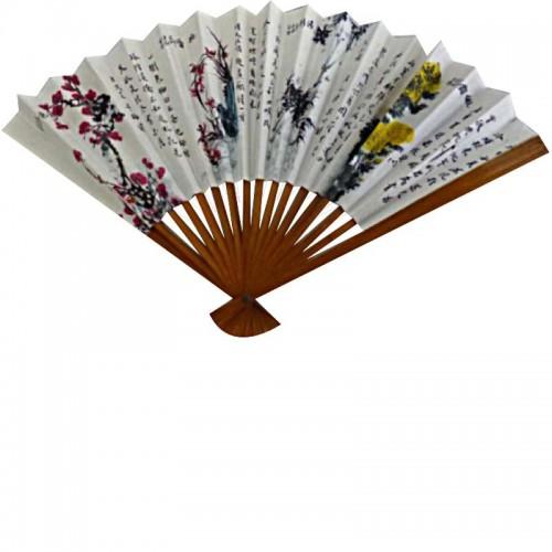 Éventail chinois en papier