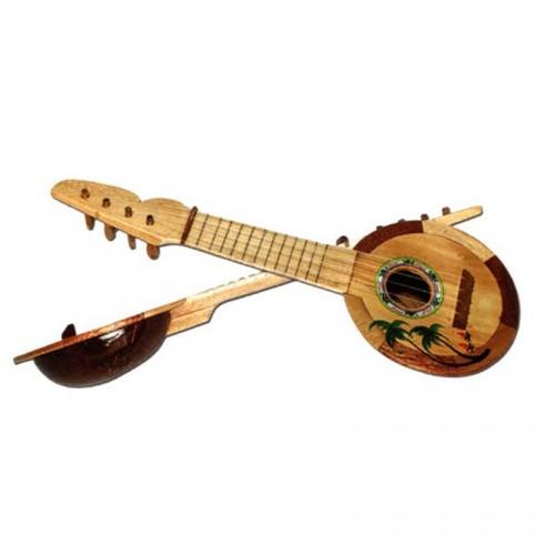 Coconut ukulele en bois