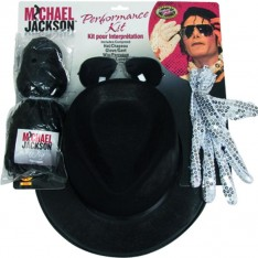 Kit déguisement Mickael Jackson