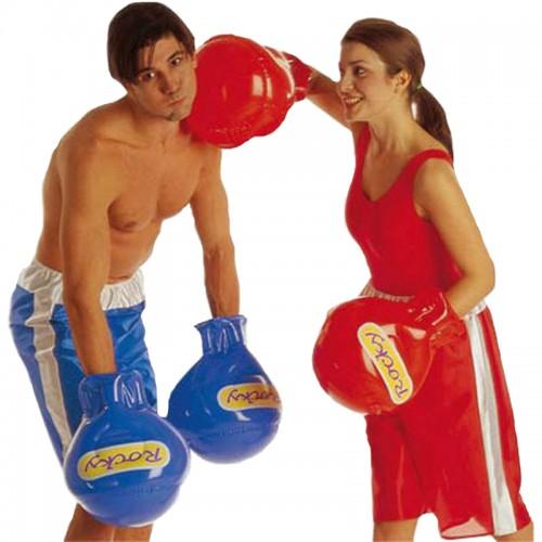 Gants de boxe gonflables