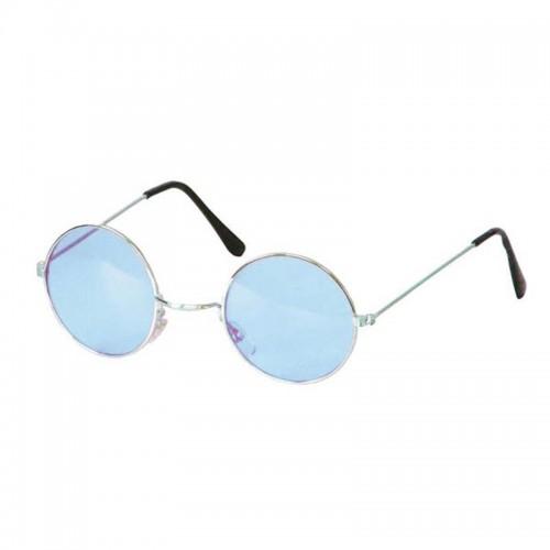 Lunettes hippies bleu