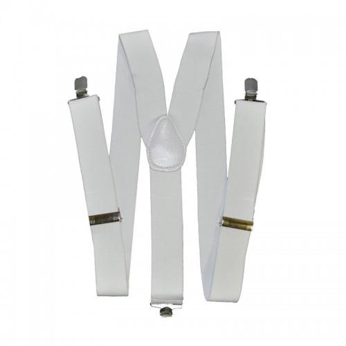 Bretelles élastique blanches