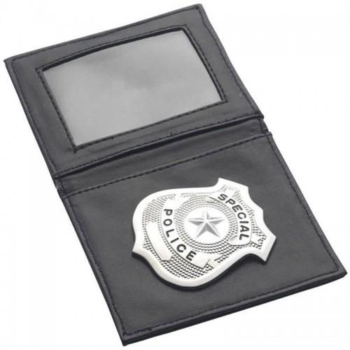 Pochette avec badge de police
