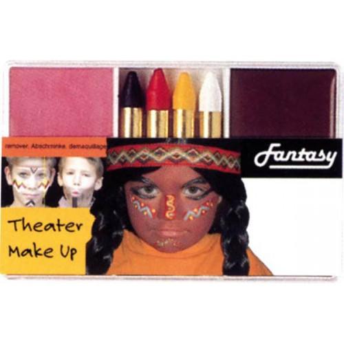 Maquillage indien - cowboy