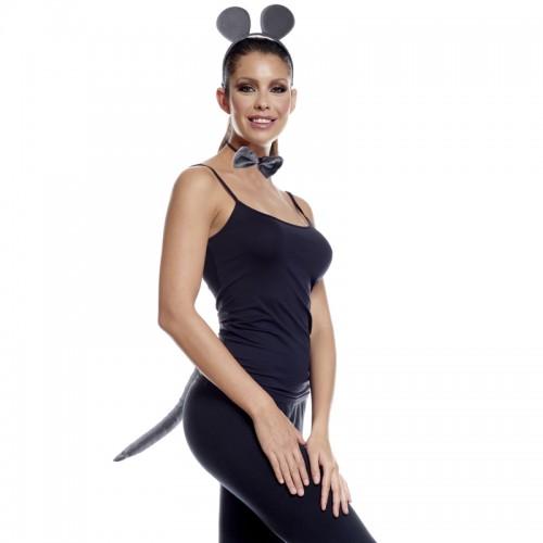 Ensemble déguisement souris grise