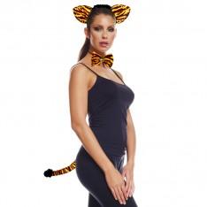 Kit déguisement tigre avec diamant