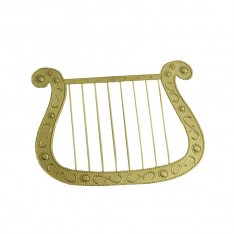 Harpe en plastique
