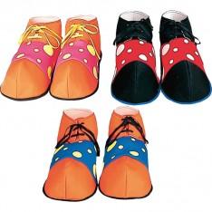 Chaussures de clown auguste adulte