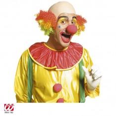 Perruque crane chauve de clown adulte