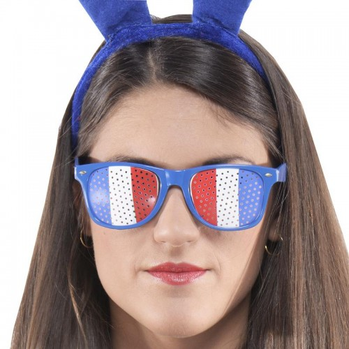 Lunettes supporter tricolores
