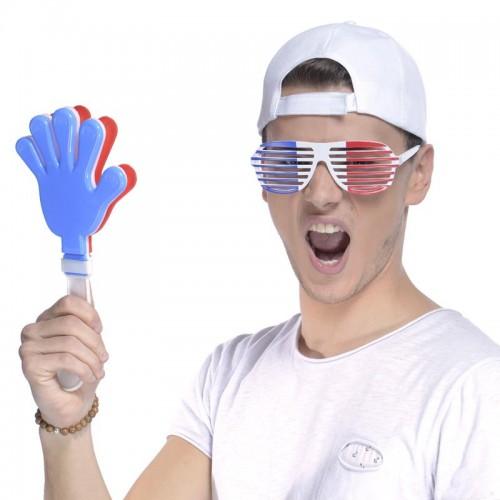 Clap clap de supporter tricolore France
