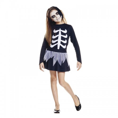 Déguisement fille squelette
