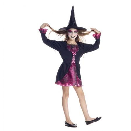 Déguisement espiègle petite sorcière