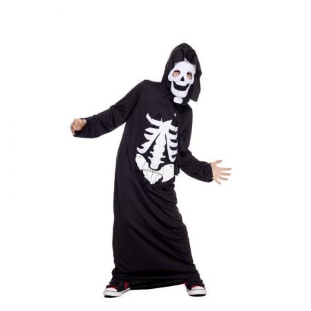 Déguisement robe squelette