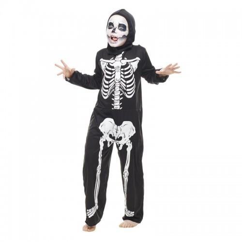 Déguisement squelette terrifiant