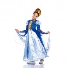 Déguisement belle reine bleue