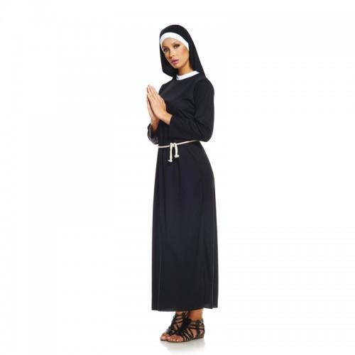 Déguisement charmante religieuse