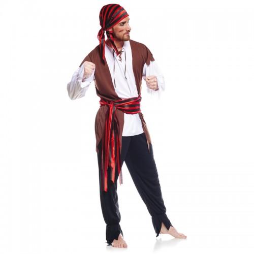 Déguisement pirate à bandana