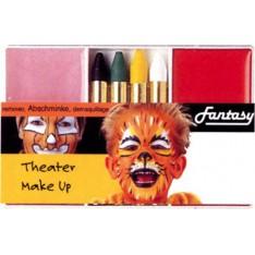 Maquillage tigrou / citrouille / orange