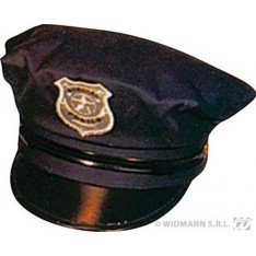 Casquette noire de police americaine