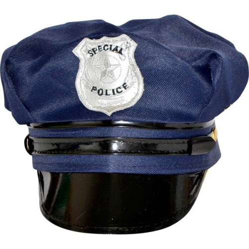 Casquette bleue de police americaine