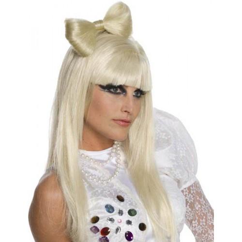 Perruque Lady Gaga officiel sans noeud