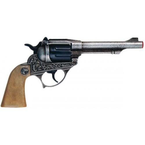 Pistolet western metal