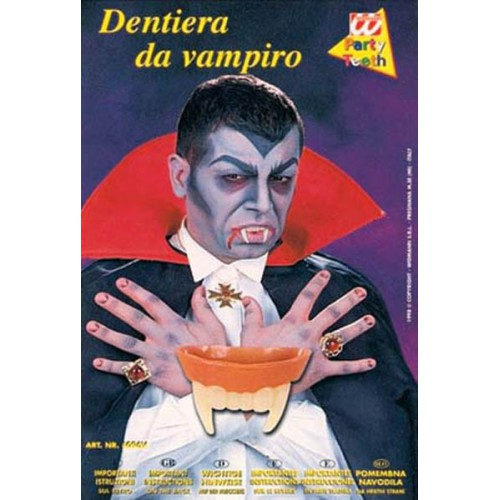 Dents de vampire phosphorescente