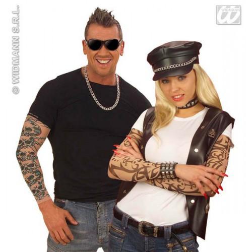 Manche tatoué rocker