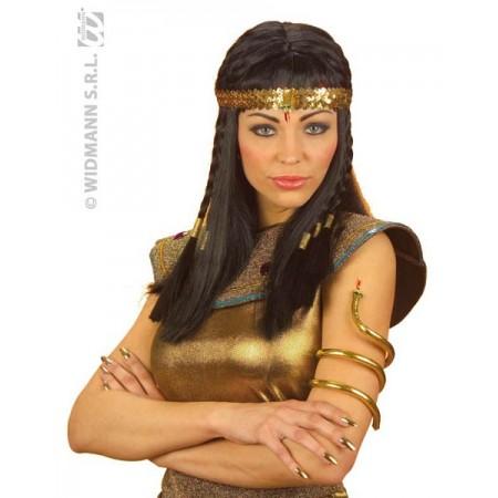 Bracelet serpent egyptien doré