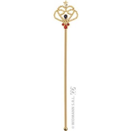 Sceptre royale doré