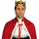 Couronne de roi en plastique