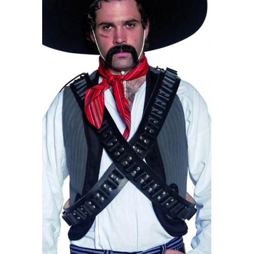 Cartouchière bandouillere western
