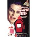 Dents de vampire + fixateur adhésif