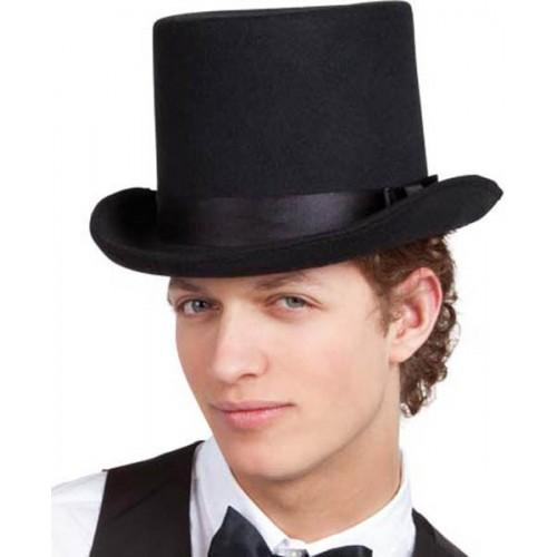Chapeau haut forme polyester