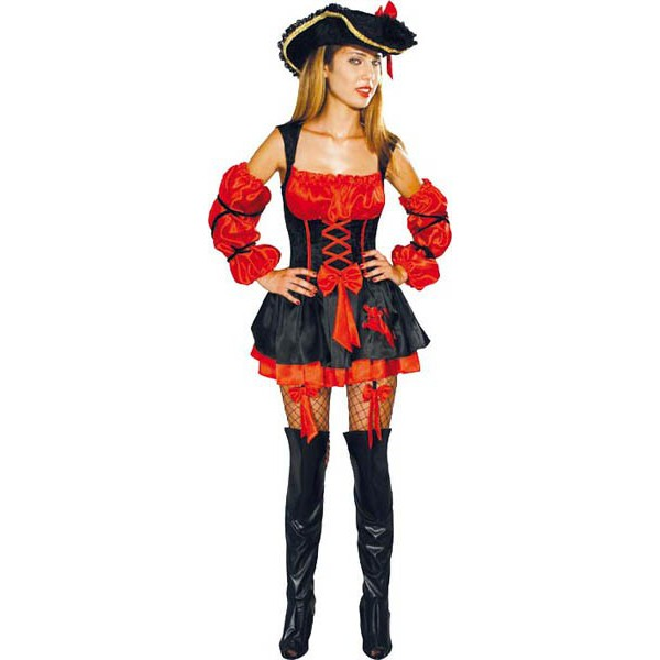 D Guisement Femme Pirate Lucky Look D Guisement