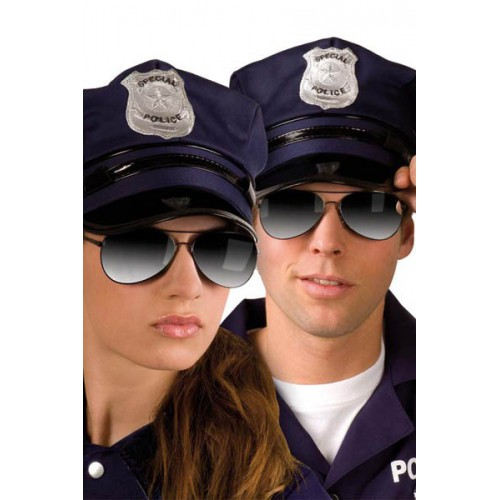 Lunettes police miroir