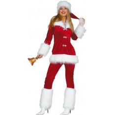 Costume Mère Noël Adulte