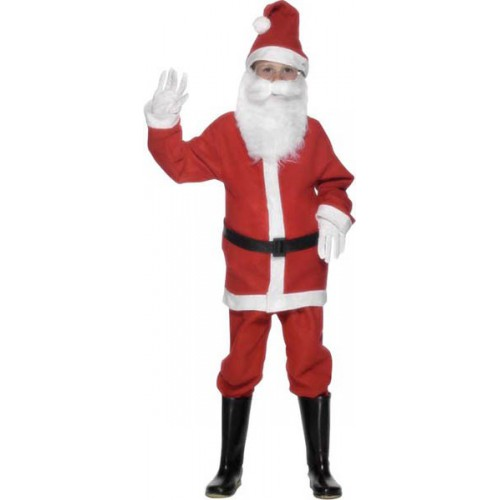 Déguisement Père Noël adolescent