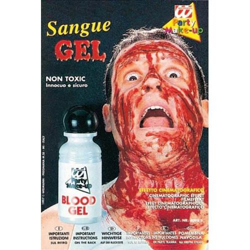 Flacon de sang en gel