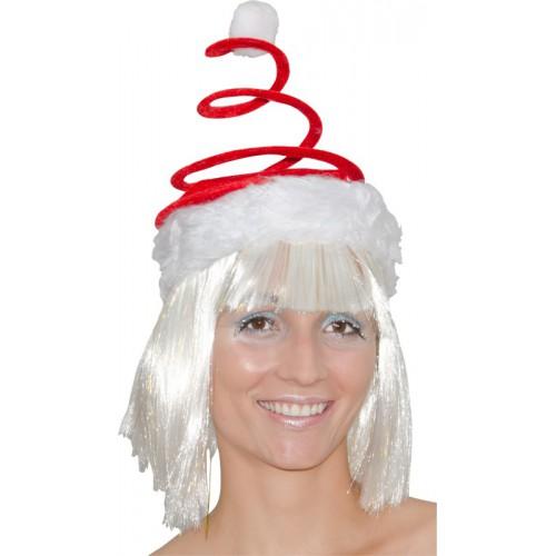 Bonnet Noël à ressort