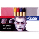 Fard + crayons + démaquillant pour Dracula