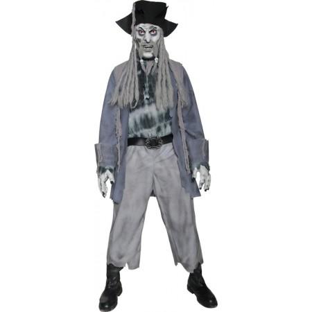 Déguisement pirate zombie