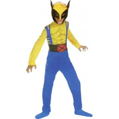 Costume Wolverine Officiel 3/5 ans