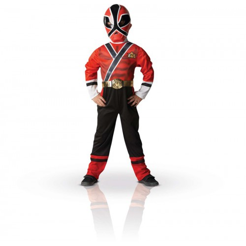 Costume Power Rangers Samouraï Rouge