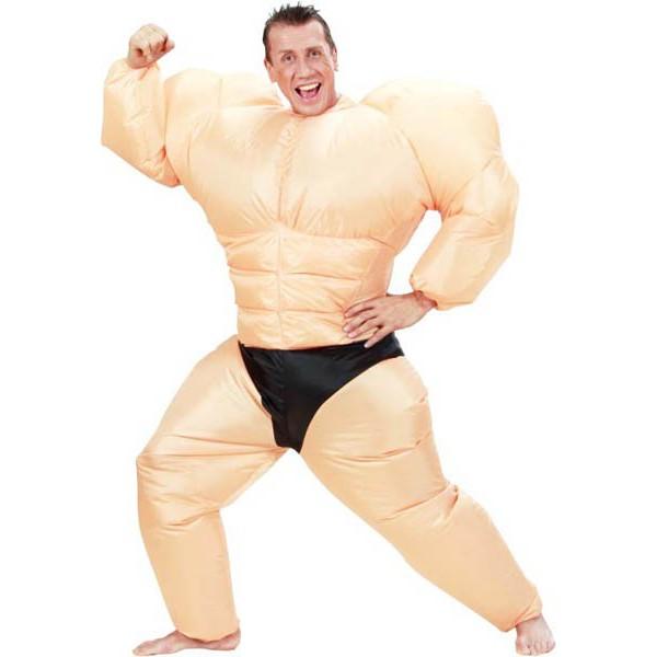 deguisement homme muscle