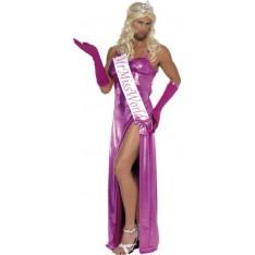 Déguisement traversti Miss Monde