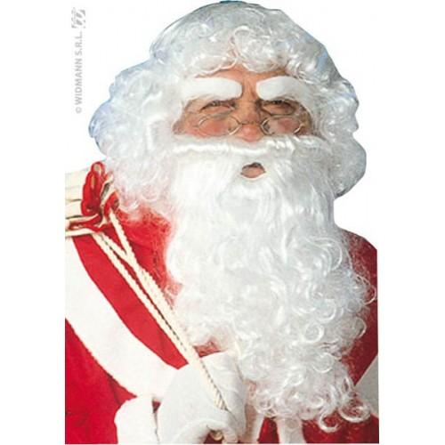 Barbe, perruque et sourcils de Père Noël