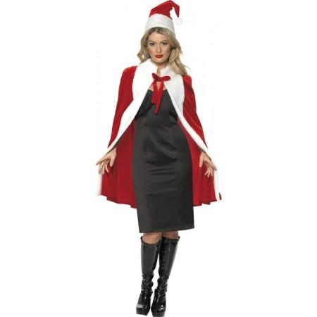 Cape et bonnet de Noël
